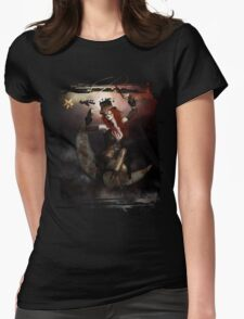 Maestro Steampunk Womens Fitted T-Shirt