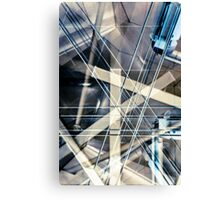 Belts & Braces engineering Canvas Print