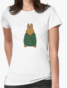 Cosy Bunny Womens Fitted T-Shirt