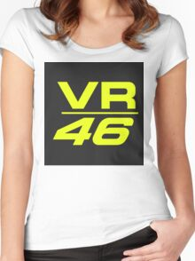 vr 46 ok Women's Fitted Scoop T-Shirt