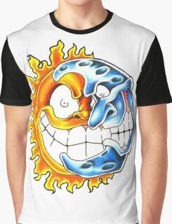 moon sun Graphic T-Shirt