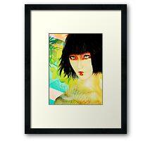 Maiko in Spring Framed Print