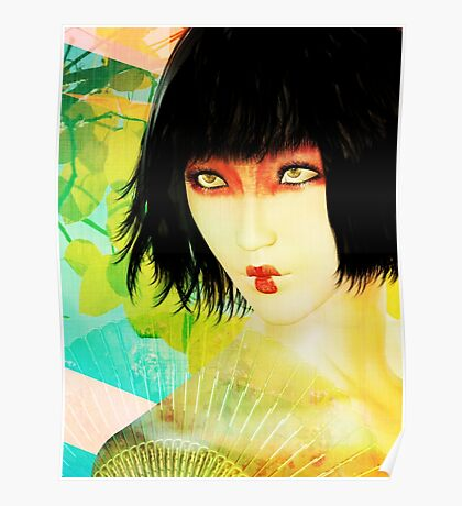 Maiko in Spring Poster