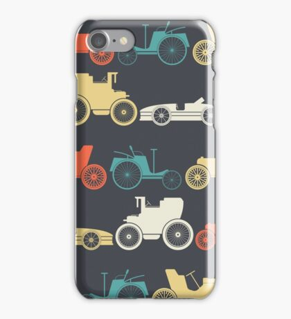 Vintage cars iPhone Case/Skin