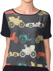 Vintage cars Chiffon Top