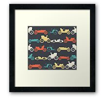 Vintage cars Framed Print