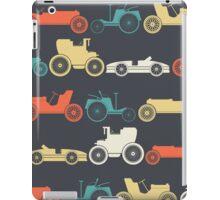 Vintage cars iPad Case/Skin