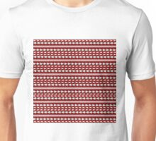 Tribal on red Unisex T-Shirt