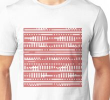 Bytes and pieces red Unisex T-Shirt
