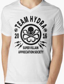 Team Hydra Super Villain Appreciation Society Mens V-Neck T-Shirt