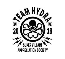 Team Hydra Super Villain Appreciation Society Photographic Print