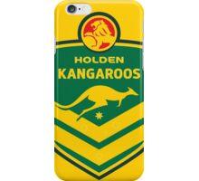 HOLDEN KANGAROOS NRL iPhone Case/Skin
