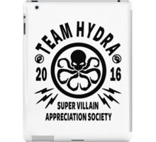 Team Hydra Super Villain Appreciation Society iPad Case/Skin