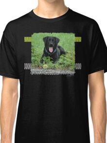 Loki - Black Labrador Classic T-Shirt