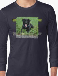 Loki - Black Labrador Long Sleeve T-Shirt