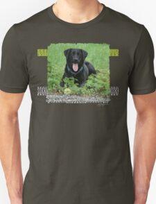 Loki - Black Labrador Unisex T-Shirt