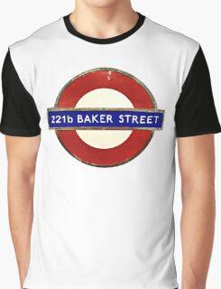 221b BAKER STREET Graphic T-Shirt