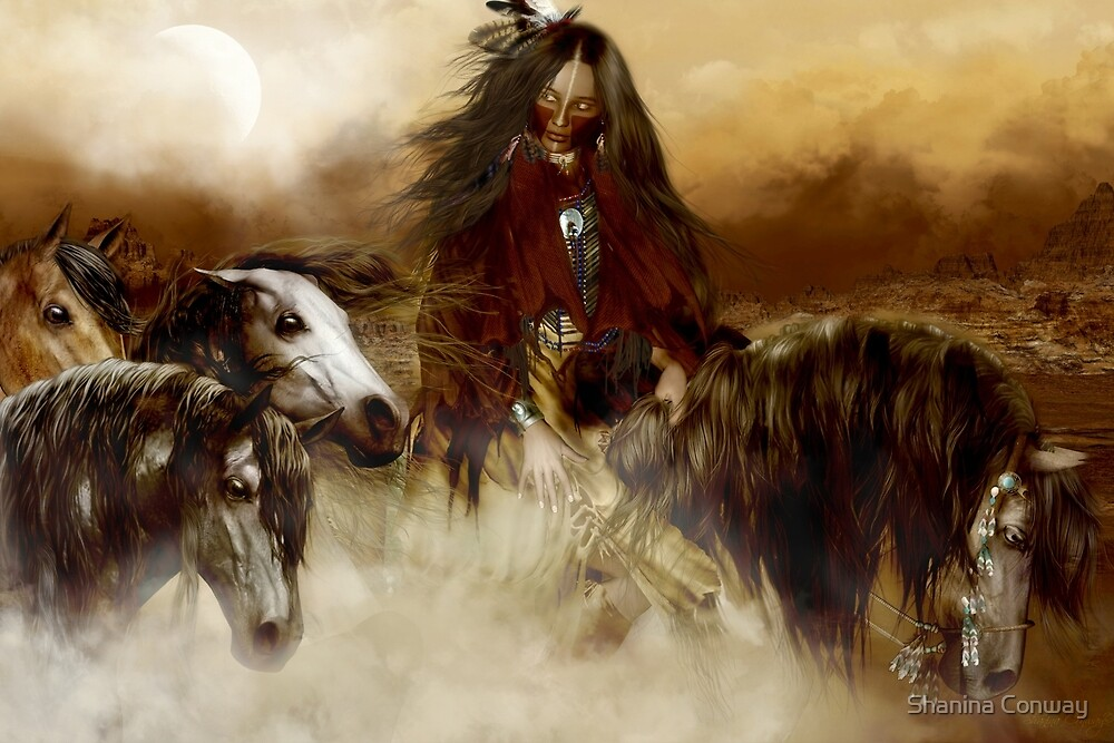Spirit Helpers by Shanina Conway