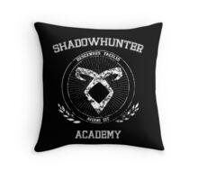 Shadowhunter Academy Throw Pillow