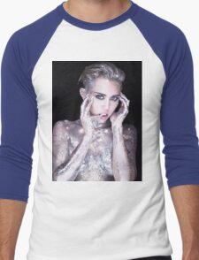 Miley Cyrus By Photographer Rankin Men's Baseball ¾ T-Shirt