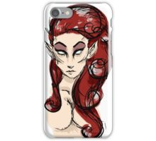 Red-Headed Elf iPhone Case/Skin