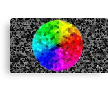Colour wheel (uncut) Canvas Print