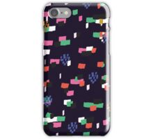 Confetti - Navy iPhone Case/Skin