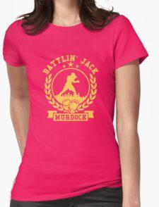 battlin jack murdock daredevil Womens Fitted T-Shirt