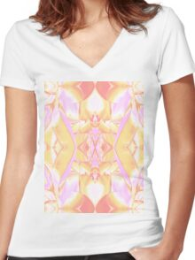 Plant Life No.2 Women's Fitted V-Neck T-Shirt