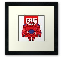 Big Hero Framed Print