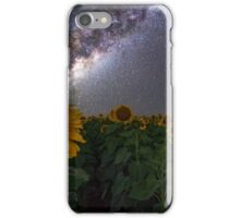 Stars on the Sunflower iPhone Case/Skin