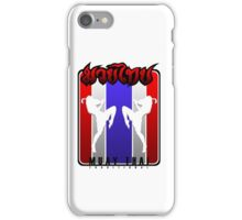 Muay Thay pose on Flag Thailand Martial Art  iPhone Case/Skin