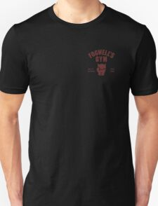Fogwell's Gym (black/small) Unisex T-Shirt
