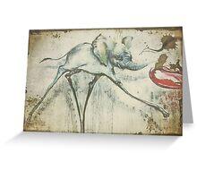 Daliesque Greeting Card