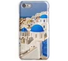 Oia,Santorini blue & white iPhone Case/Skin