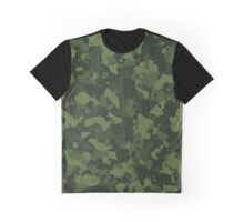 Green Camo Graphic T-Shirt