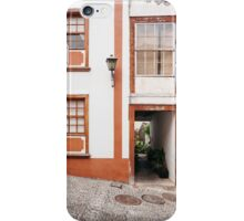 Building and alleyway. La Palma, Canary Island. iPhone Case/Skin