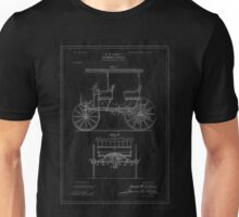Patent Image - Car - Inverted Unisex T-Shirt