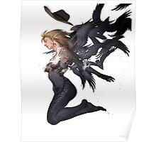 Mystique raven Poster