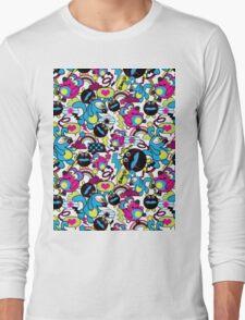 rabbit full colour Long Sleeve T-Shirt