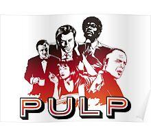 Pulp Illustration LZ Poster