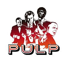 Pulp Illustration LZ Photographic Print