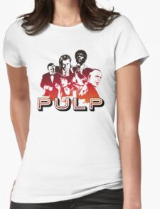 Pulp Illustration LZ Womens Fitted T-Shirt