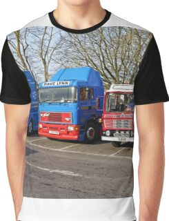 Classic Commercial Lorries  Graphic T-Shirt