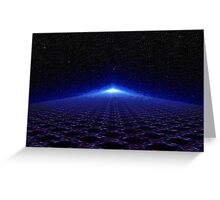 Time Portal In Space Greeting Card