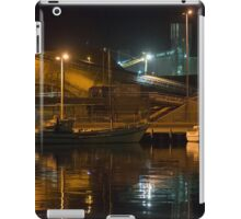 Night Time at the Port iPad Case/Skin