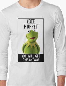 Vote Muppet Long Sleeve T-Shirt