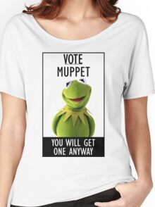 Vote Muppet Women's Relaxed Fit T-Shirt