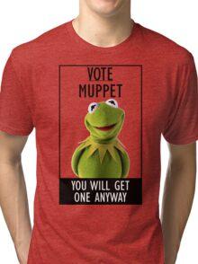 Vote Muppet Tri-blend T-Shirt