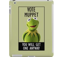 Vote Muppet iPad Case/Skin